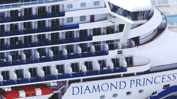 kru kapal diamond princess
